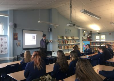 Barrister Visits the Academy